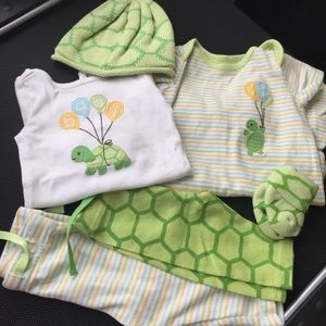 Gymboree NB Bundle Turtles 🐢🐢🐢
